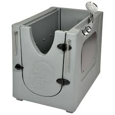 home pet spa 35 in x 24 7 in pet shower and grooming enclosure with