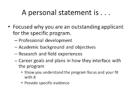 Personal Goal Statement Ppt Video Online Download Stunning Career Goal Statement