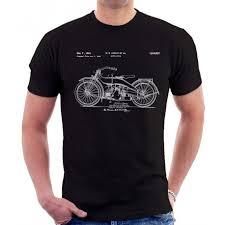 davidson patent print t shirt
