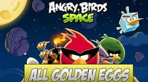 Angry Birds Space: All Golden Egg Locations Guide - YouTube