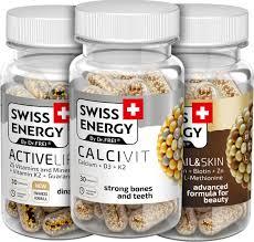Витаминные комплексы <b>Swiss Energy</b>