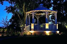 solar string lights and chandeliers enchanting marvelous outdoor gazebo lighting ideas led canada