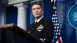 Trump promotes Ronny Jackson, the former White House physician ...