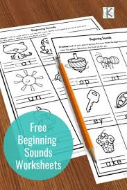 Download these free worksheets here! Free Beginning Sounds Worksheets