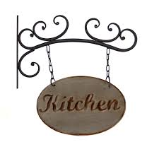 Metal Wall Decor For Kitchen Metal Kitchen Sign Wall Decor By American Mercantile Miserv