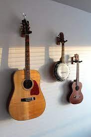 hang guitar on wall guitar display