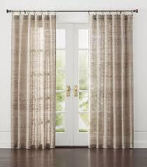 Crate and Barrel Hayden Silk Curtains