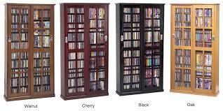 inspiring dvd storage cabinet with sliding glass door 700 cd 336 dvd storage cabinet new