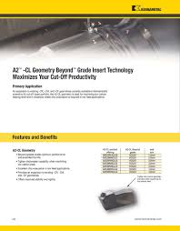 Turning Innovations 2011 By Kennametal