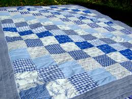 My Rose Valley: Boat quilt - VOILA! & At first I made big 10 inch squares like in my Wedding Quilt, but with the  traditional patterns and only blue, white and a sprinkle of red it didn't  feel ... Adamdwight.com