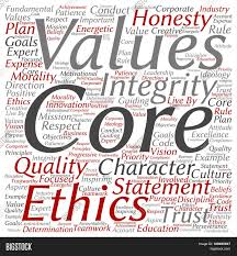conceptual core values integrity ethics square concept word cloud conceptual core values integrity ethics square concept word cloud isolated on background metaphor to honesty