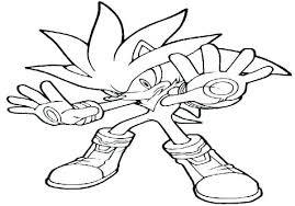 Free Printable Sonic Coloring Pages Shadow X Sticks Colouring Co
