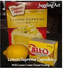 Lemon Supreme Cupcakes Juggling Act Mama