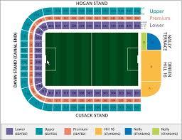 Stadium Seating Plans Piltown Gaa Kilkenny