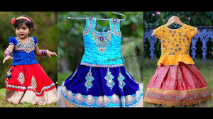 Indian Baby Girl Lehenga Designs Baby Girl First Birthday Dress Indian Outfits