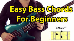 Basic Bass Chords Easy Bass Guitar Chords For Beginners Youtube