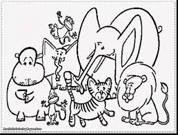 Small Picture Extraordinary animal coloring pages with zoo animals coloring