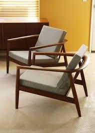 2 dux danish lounge easy chair folke olssen teak mid century modern eames knoll