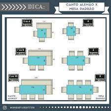 · para atingir 7 ou 8 lugares, o ideal é uma mesa de 120 cm x 80 cm, com bancos de 160 cm x 80 cm. Pin Su Salas De Jantar