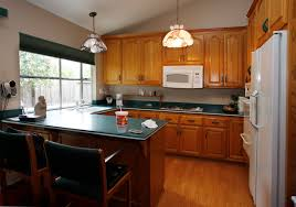 Cushion Flooring Kitchen Modern Home Apartment Kitchen Design Ideas With Black Stools With