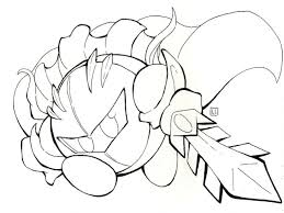 Small Picture Kirby Coloring Pages coloringsuitecom