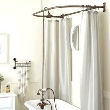 claw foot bathtub shower bathroom shower curtain
