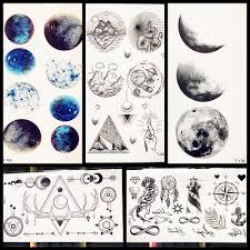 2316 руб 10 скидкаакварельные женские татуировки горы круглая планета звездное