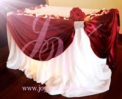 Cake Table Decoration Red Cake Table Decoration For Wedding Joyce Wedding Services