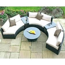 curved outdoor sofa curved outdoor sofa maze rattan half moon garden set internet gardener couch cover curved outdoor sofa