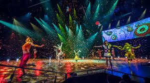 The Beatles Love By Cirque Du Soleil At The Mirage Hotel Casino Las Vegas
