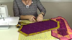 Easy + Quick Quilt Binding by Machine - YouTube & Easy + Quick Quilt Binding by Machine Adamdwight.com