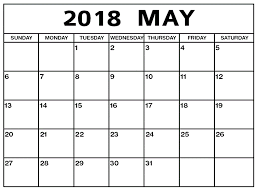 windows printable calendar 2018 download editable printable calendar may 2018 free calendar and