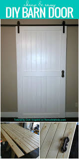 Build this cheap and easy DIY barn door for around $80! Plus tips ...