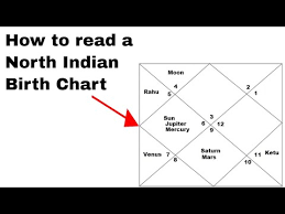 Learn To Read Kundli Chart Learn How To Read A North Indian Birth Chart Youtube