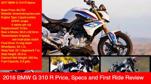 2018 bmw g310r. interesting 2018 2018 bmw g 310 r price specs and first ride review with bmw g310r