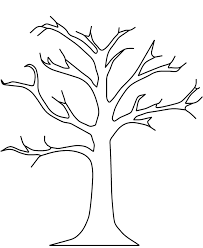 Coloring Pictures Of Winter Trees