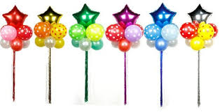 Star Balloon With Tassel Floating Decoration Birthday Party Welcome Party Annual Decoration Foil Balloon