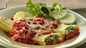 spinach manicotti recipe bettycrocker com