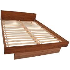 scandinavian platform bed.  Bed Scandinavian Danish Modern Teak Queen Platform Bed For Sale On 1stDibs