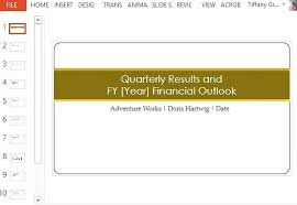Professional Quarterly Earning Report Template In Status Student ...