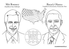 Small Picture Obama Printable Coloring Pages u s president barack obama barack