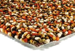 asiatic tashen thick felted gy wool rugs red green
