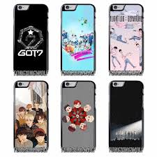 GOT7 Kpop Cross Cover Case For Iphone 4 4s 5 5c 5s se 6 6s 7 8