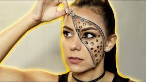 leopard print zipper makeup tutorial