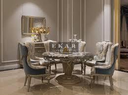 stylish inspiration luxury dining table ekar furniture round marble china modern tables and uk