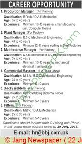Commercial Manager Jobs In Jobs In Pakistan In Multiple Cities On ...