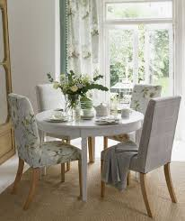 dining room decorated with fl fabric