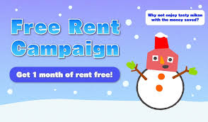 Winter Free Rent Campaign Oakhouse
