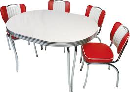 red retro chairs. Charming Images Of Retro Style Kitchen Table And Chair : Beauteous Picture Dining Room Red Chairs G