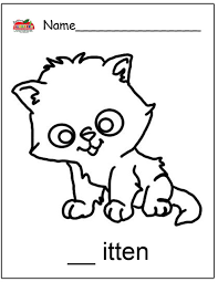Small Picture Kitten Coloring Page Good Kitten Coloring Sheet Page With Kitten